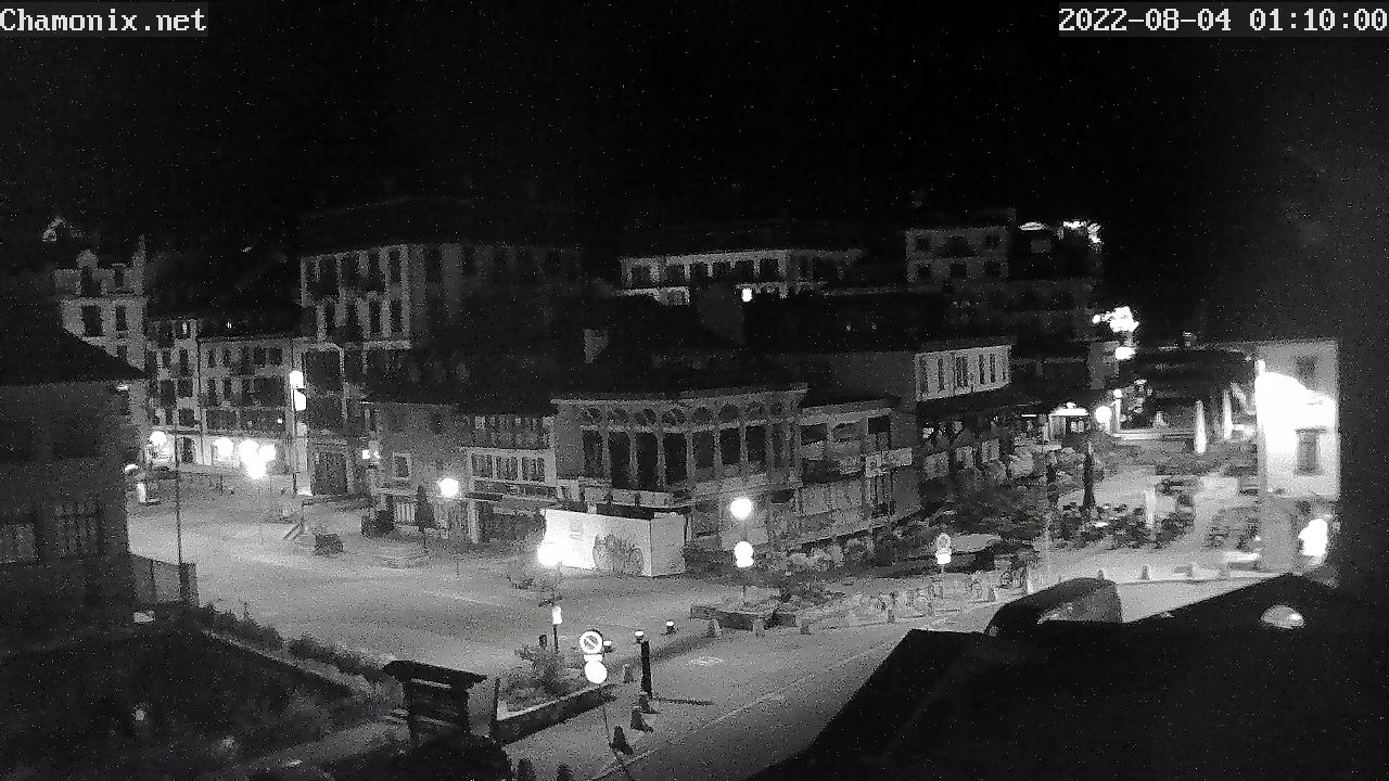 Webcam, Chamonix