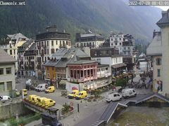 Chamonix Town Center Webcam